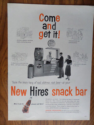 1953 Hires Root Beer Ad  Come and Get It