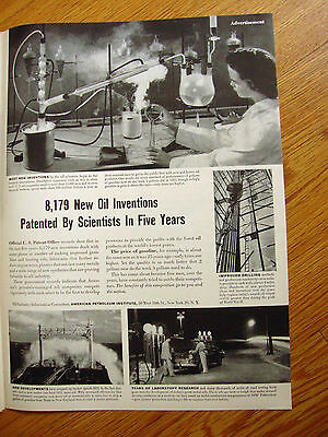 1951 Article Oil Ad 8,179 New Oil Inventions Patented by Scientists in Five Year
