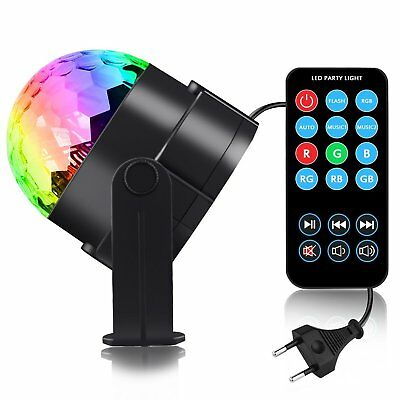 Party Light Disco Light LED Lighting – Spriak LED RGB Spot Light 3 W with Remote
