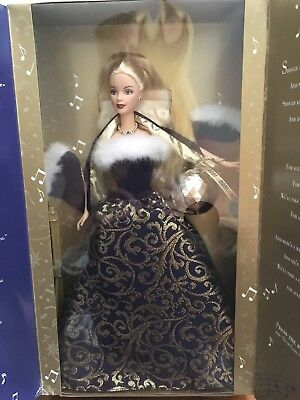 NRFB (Ring In The New Year 1999) Barbie (Working Christmas Ball)