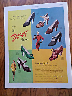 1950 Vitality Shoes Ad