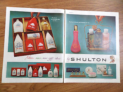 1960 Old Spice Shulton Ad New New New Gift Ideas