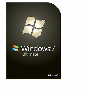 Microsoft Windows 7 Ultimate 32 & 64 Bit Instant Delivery Product Key Code