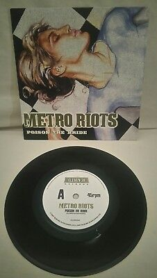 "Metro Riots ~ Poison the Bride 2007 Eleven 78 label all NM 7""  P/S"