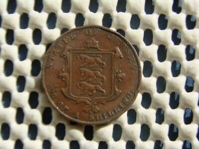 JERSEY. 1/26. One Twenty Sixth of a Shilling. VICTORIA 1851.