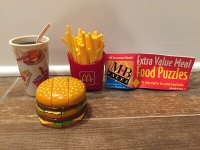 McDonald's MB Sales Food Puzzle Extra Value Meal promo