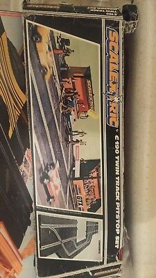 scalextric twin track pitstop set c190