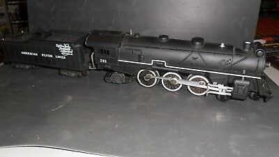 American Flyer 293 Steam Train Amd Tender Used As Is Looks Nice Untested