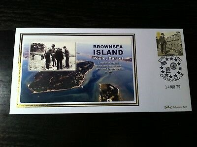 Gb - Benham Cover - Brownsea Island - Location Of The First Scout Camp