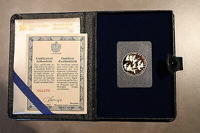 1978 Canada 'Together Into The Future' $100 22k Gold Proof Coin