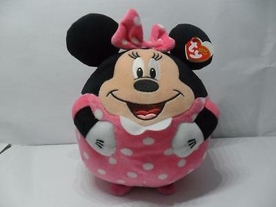 Minnie Mouse Ty Beanie Ballz Large With Giggling Sound