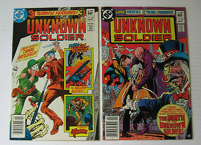 Unknown Soldier/Lot of 2 #262 & 267 (DC 1982) VF+ Joe Kubert-c/a.