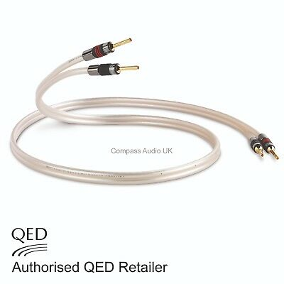 QED Reference XT40 Speaker Cable 2 x 1.5m Terminated AIRLOC Forte Banana Plugs