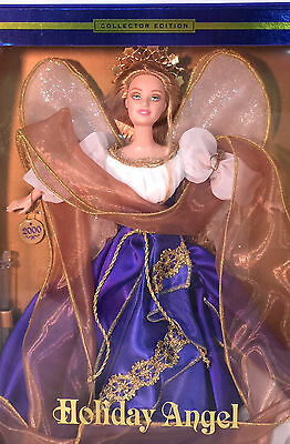 Barbie 2000 HOLIDAY ANGEL~ Royal Blue Gown~ REAL NICE BOX