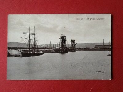 #537 Llanelly - View of North Dock.Real photo.