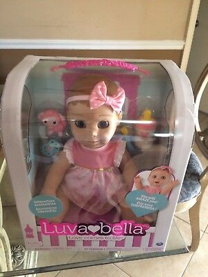 Luvabella Luva Bella Responsive Interactive Blonde Baby Girl Doll (Sold Out) HTF