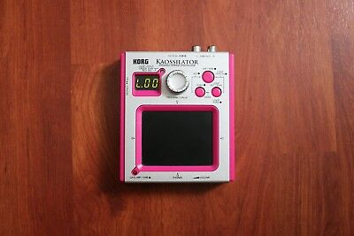 KORG KO-1 RARE PINK KAOSSILATOR Dynamic Phrase Synthesizer KO1 Electronic Music