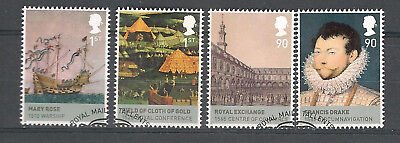 Vend Serie Timbres Obliteres Royaume Uni Annee 2009