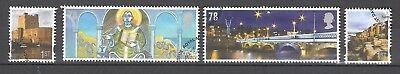 Vend Serie Timbres Obliteres Royaume Uni Annee 2008