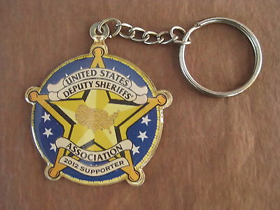 United States Deputy Sheriffs Association 2012 Supporter Keychain