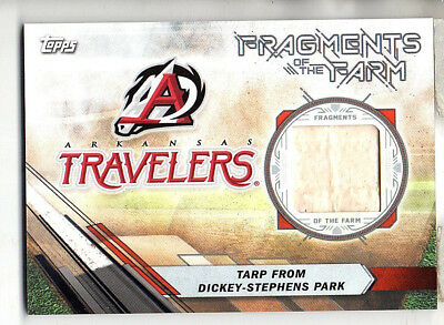 2017 Topps Pro Debut Tarp From Dickey-Stephens Park Fragments of the Farm