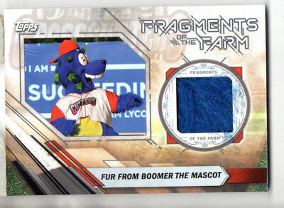 2017 Topps Pro Debut Fur From Boomer The Mascot Fragments of the Farm