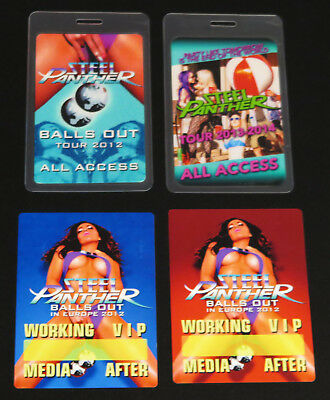 Steel Panther – Tour pass collection