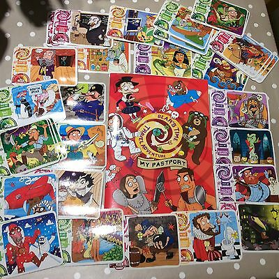 4 Cards YoYo Bears Spy Missions,Super Species & Time Travel Lots To Choose From