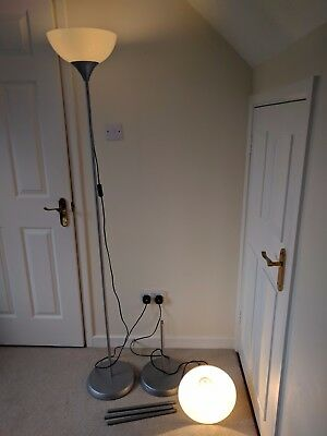 IKEA up lighters pair - 220 - 240v  Max 150w bulb