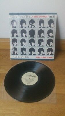The Beatles Lp A Hard Day's Night Mega Rare Russian Edition Pop Rolling Stones