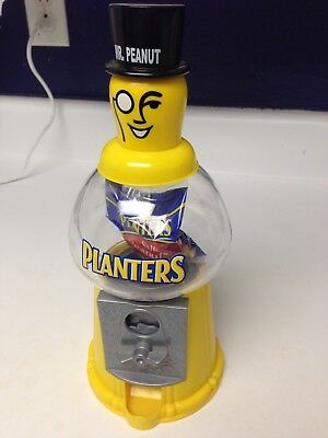 2007 Planters Mr. Peanut Nut Dispenser with 1 oz. Planters Peanuts