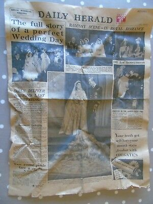 Royal events through the years,collection of old newspapers.