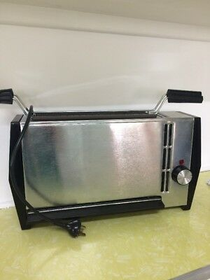 Vintage Retro Vertical Grill Hotpoint Brand In Great Working Condition