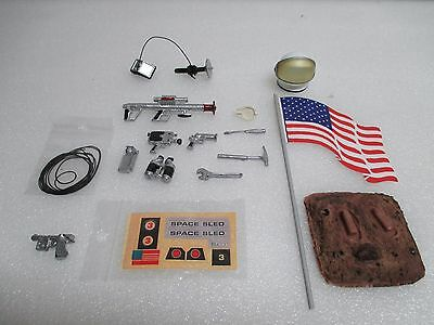 NEW! Major Matt Mason on Planet Mars surface base stand plus repro accesories