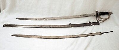 Reproduction - Civil War Sword -  Metal Scabbard - Extra Blade -  Reproduction