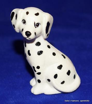 Barbie Doll Stacie Kelly Toy Dalmatian White Dog with Black Spots Color Flaw
