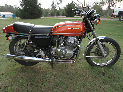 1971 Honda CB  Honda CB750F Running Driving Super Sport Flake Sunrise Orange K Four Cafe Nice!!