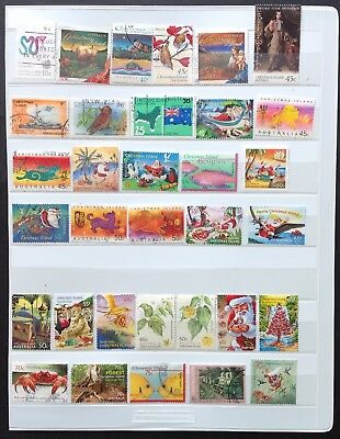 Christmas Island Fine Used Stamps (50 stamps)
