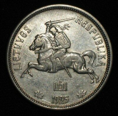 1925, 5 Litai from Lithuania.  No Reserve!