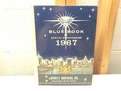 1967 Bennett Brothers Blue Book of Quality Merchandise Catalog~VGC!