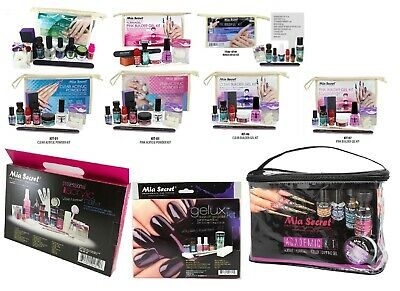 Mia Secret Professional Nail System Acrylic Kit &Gel Kit-CHOOSE YOUR KIT