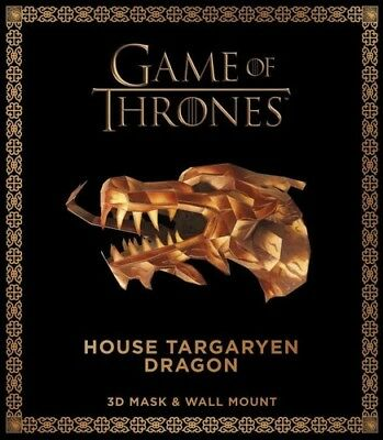 Game of Thrones Mask: House Targaryen Dragon [New Book] Paperback, With Mask