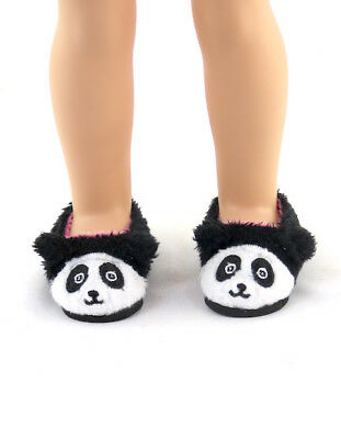 "Panda Slippers Fits Wellie Wishers 14.5"" American Girl Clothes Shoes"