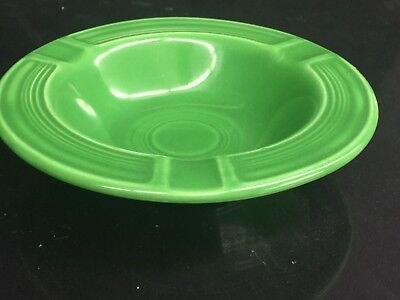 Excellent VINTAGE FIESTA WARE Ashtray~ * RARE * MEDIUM GREEN
