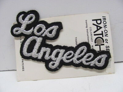 Embroidered Los Angeles Patch