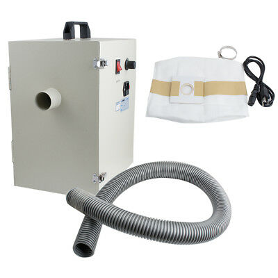 Dental Laboratory Dust Collector Vacuum Cleaner Machine 110V 1000W USA