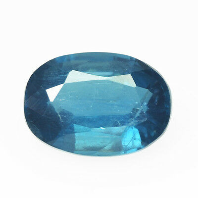 Rare Gems Stone Collection Natural Unheated Madagscar  Kyanite 1.07 Ct Oval Cut