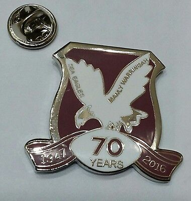 Manly Sea Eagles rugby league badge pin