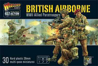 Bolt Action: British Airborne WWII Allied Paratroopers