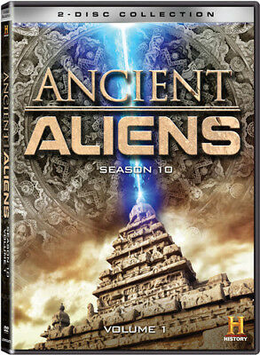 Ancient Aliens: Season 10 - Vol. 1 [New DVD] 2 Pack